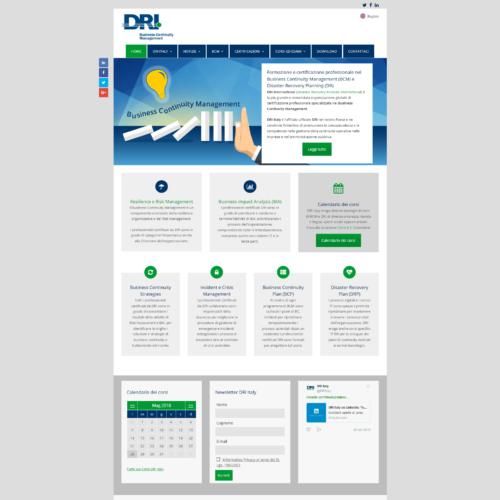 DRI Italy - Formazione Business Continuity Management