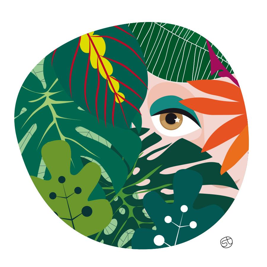 Hide and seek - Illustrazione | Stefania Tomasich